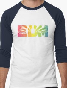EDM Rainbow Men's Baseball ¾ T-Shirt