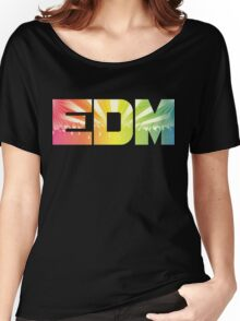 EDM Rainbow Women's Relaxed Fit T-Shirt