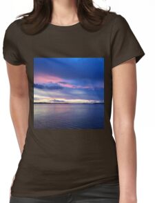 Florida Sunset Womens Fitted T-Shirt