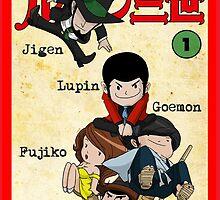 Vintage Lupin Comics by AlexKramer