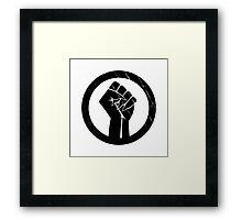 Black Panther Power Framed Print