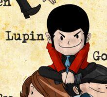 Vintage Lupin Comics Sticker