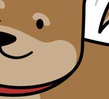 Playful Shiba Sticker