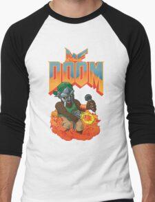 MF DOOM: Knee Deep in the Dead! Men's Baseball ¾ T-Shirt