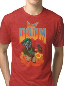 MF DOOM: Knee Deep in the Dead! Tri-blend T-Shirt