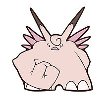 Clefable Stronk by Andrew Farr