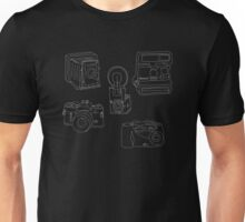 Evolution of the Camera Unisex T-Shirt