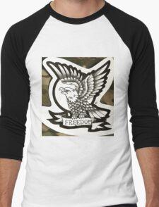 Freedom Men's Baseball ¾ T-Shirt
