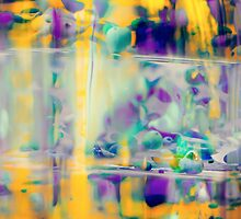 Orchids in Oil Drops — Series I — Oncidium by snowdrift