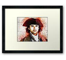 """""""Wheal Leisure"""" ~ Ross Poldark Framed Print"""