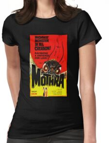 MOTHRA! Womens Fitted T-Shirt