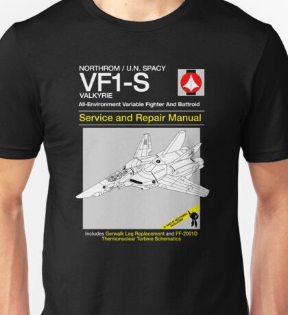 VF-1 Service and Repair Unisex T-Shirt
