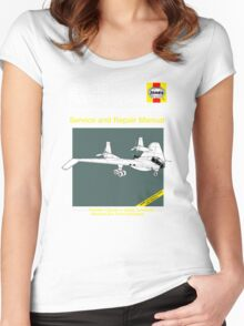 BV-38 Raiders Service and Repair Manual Women's Fitted Scoop T-Shirt