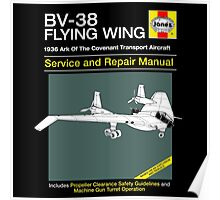 BV-38 Raiders Service and Repair Manual Poster
