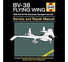 BV-38 Raiders Service and Repair Manual Photographic Print