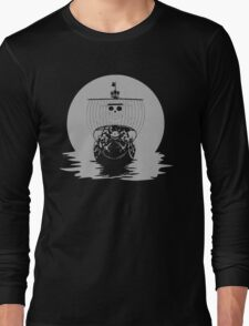 Pirate One Piece - The Thousand Sunny Long Sleeve T-Shirt