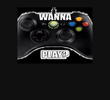 Wanna Play Xbox Controller Tee Unisex T-Shirt