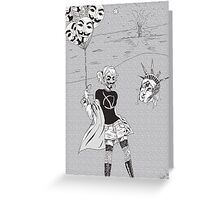 Vendetta Chic Greeting Card