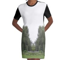 Weeping Willow Graphic T-Shirt Dress
