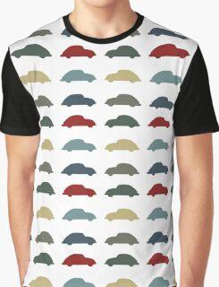 Vintage Colours VW Beetle  Graphic T-Shirt