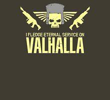 Pledge Eternal Service on Valhalla Unisex T-Shirt