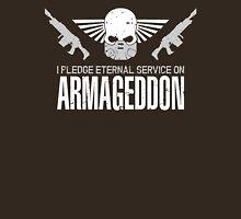 Pledge Eternal Service on Armageddon Unisex T-Shirt