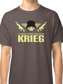 Pledge Eternal Service on Krieg Classic T-Shirt