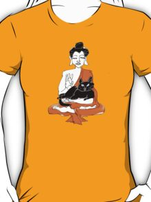 Buddha's cat T-Shirt
