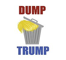 Let's Dump Trump! Photographic Print