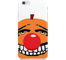 Mr Halloween Red Nose iPhone Case/Skin