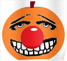 Mr Halloween Red Nose Poster