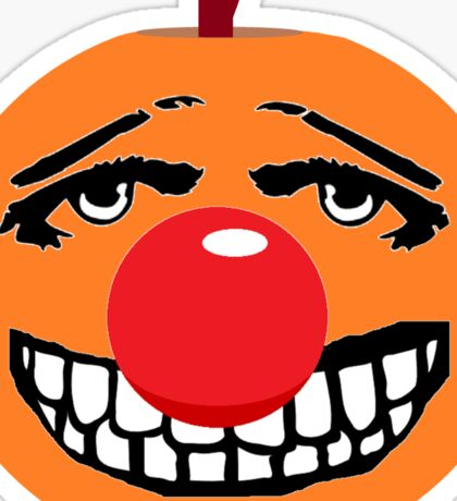 Mr Halloween Red Nose Sticker