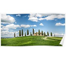 Tuscany Villa, Val DOrcia Poster