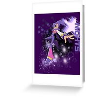 Nights Star Background Greeting Card