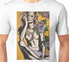 Mischief Among Roses  Unisex T-Shirt
