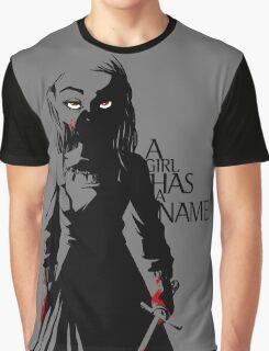Arya Stark of Winterfell Graphic T-Shirt