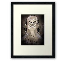 Undertaker: Praise Him. Framed Print