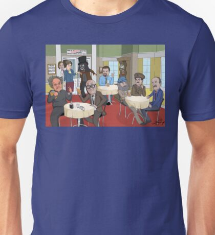 'BritCom Brilliance' Version 2 Unisex T-Shirt