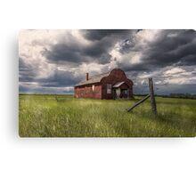 Modern Family on the Prairies Canvas Print