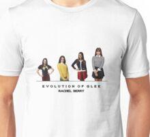 Evolution of Glee    Rachel Berry Unisex T-Shirt