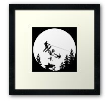 Jump the Shark Framed Print