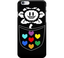 Pocket Flowey iPhone Case/Skin