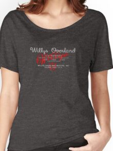 Willys Overland Corporation USA Women's Relaxed Fit T-Shirt
