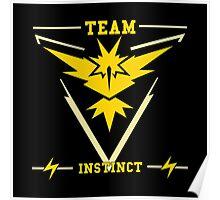 Team Instinct Pokémon GO Poster
