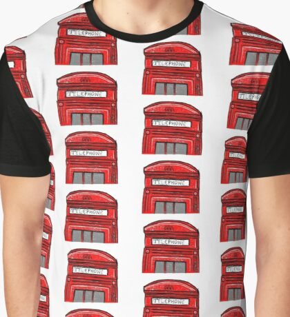 'London Calling' Graphic T-Shirt