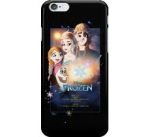 Frozen Star Wars Poster iPhone Case/Skin