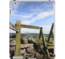 Above Appletreewick iPad Case/Skin
