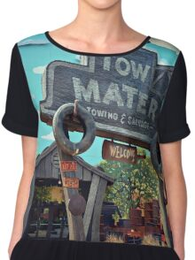 Tow Mater Towing & Salvage Chiffon Top
