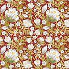 Flowers Art Pattern by T-ShirtsGifts