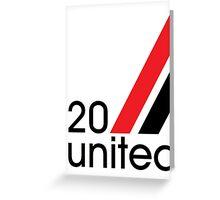 20 MUFC Greeting Card